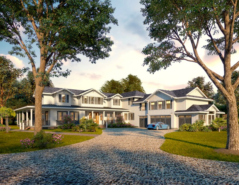 Lowcountry Estate Home Design-Hollywood South Carolina