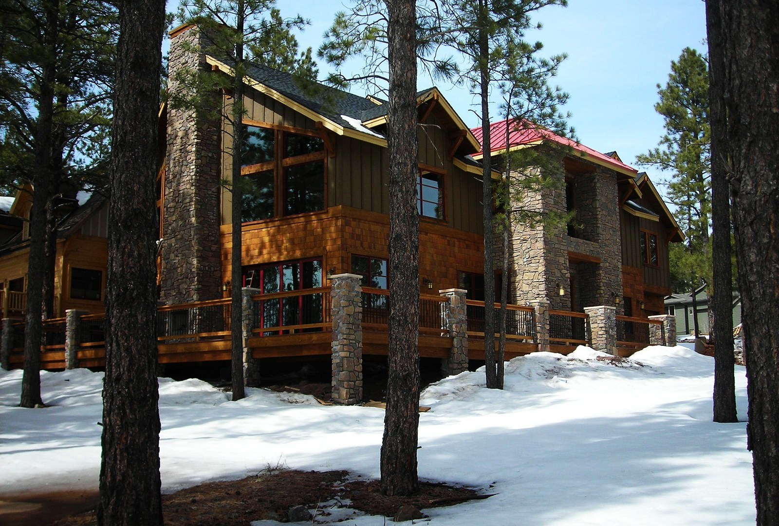 Myles Nelson McKenzie Design-Custom Rustic Home Design-4745 West Braided Rein, Flagstaff Arizona