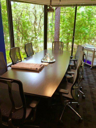 Myles Nelson McKenzie Design-The design conference room in Bluffton South Carolina.