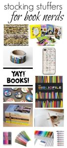 Stocking stuffers for book nerds poster