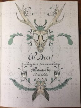 oh deer! coloring book
