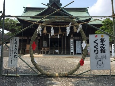 No.4372 見附天神、矢奈比賣神社の名越しの大祓 2019/7/27