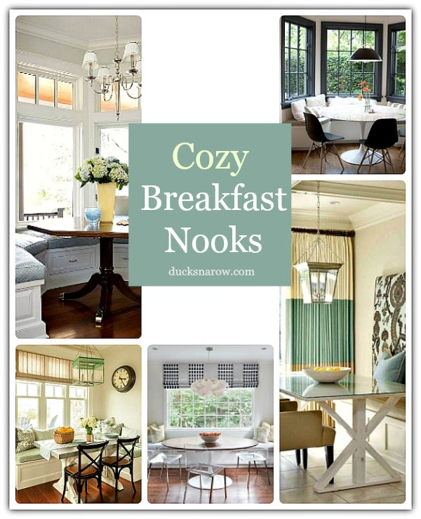 Cozy breakfast nooks #homedecor