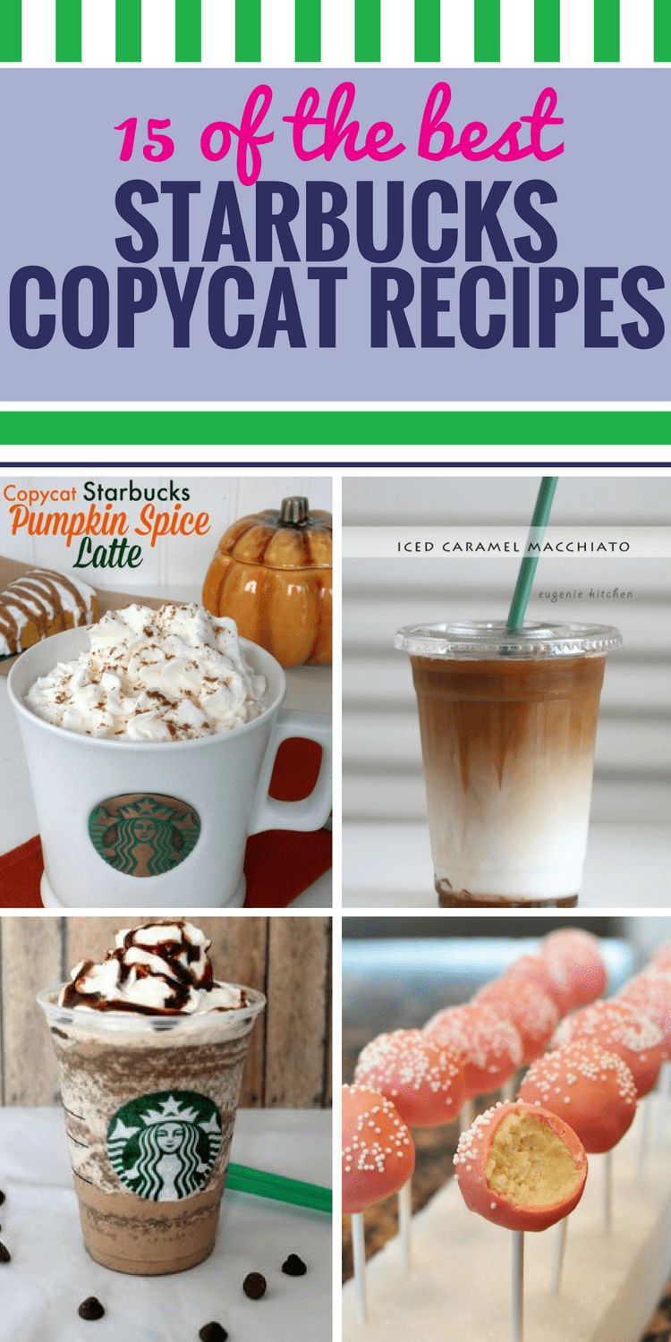 15 Copycat Starbucks Recipes My Life And Kids