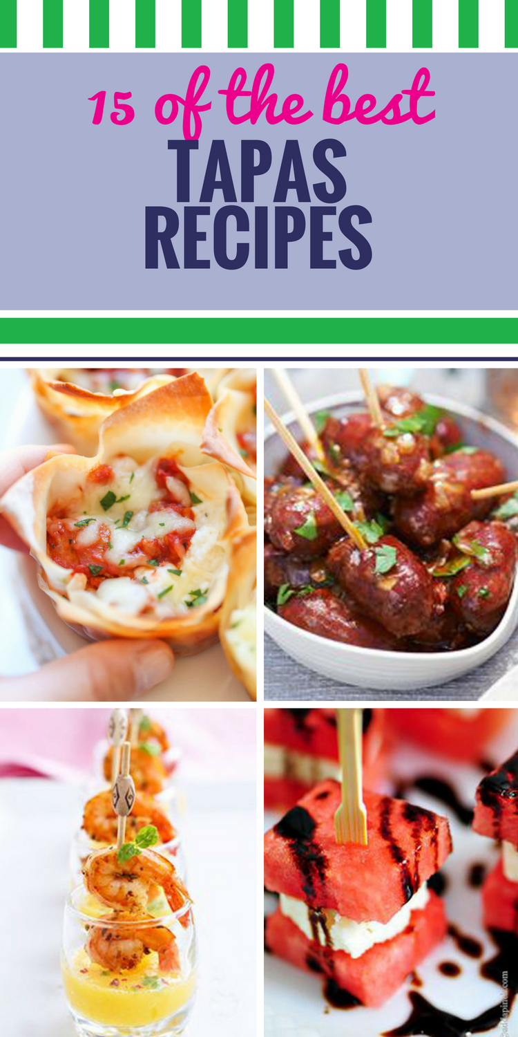 15 Tapas Recipes My Life And Kids