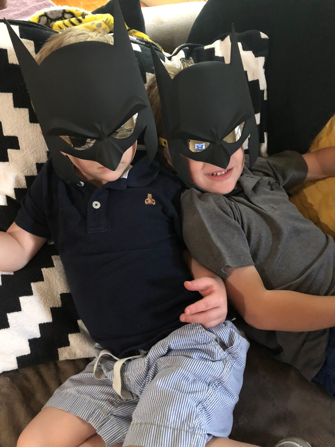 Here comes batman(s)!