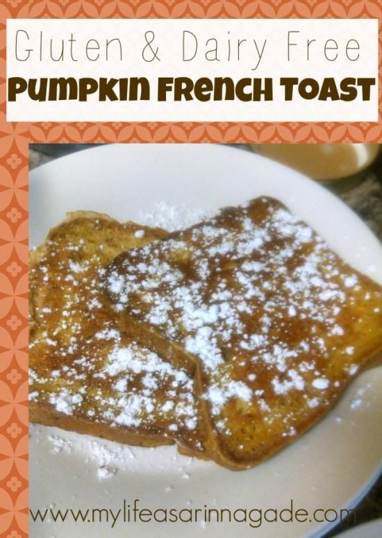 GFDF Pumpkin French Toast via My Life as a RInnagade