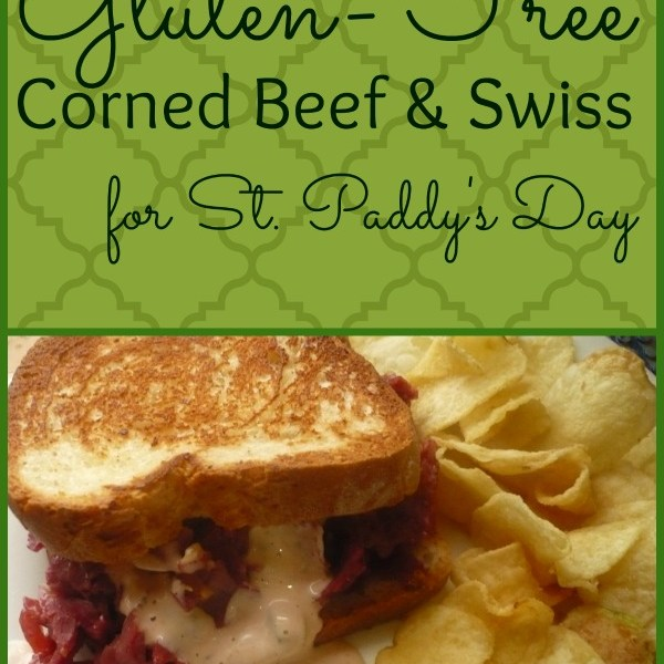 Gluten-Free Corned Beef & Swiss for St. Patrick's Day
