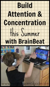 Boost Attention & Concentration this Summer with BrainBeat via My Life as a Rinnagade