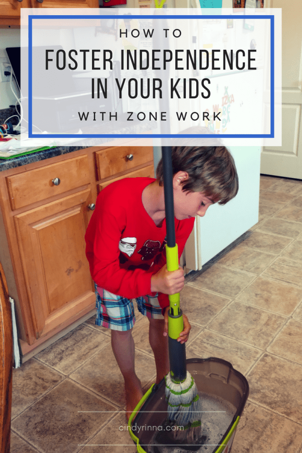 How to Foster Independence in Your Kids with Zone Work