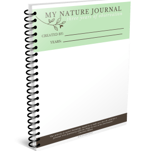 My nature journal via cindyrinna.com