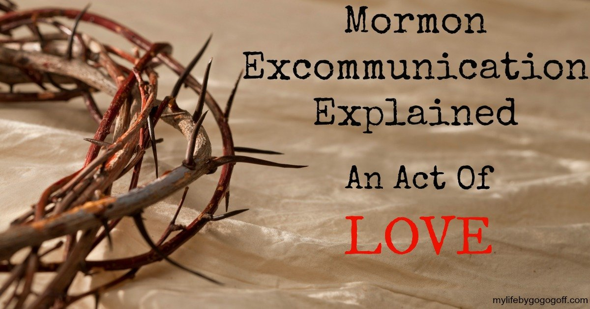 What is Mormon Excommunication? It is not what you think, it is an act of love to help people repent! It deals with Covenants and expectations.