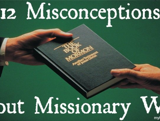 Do you think it is not your job to do missionary work? Think again! Here are 12 Misconceptions About Missionary Work, have you ever believed one of them?