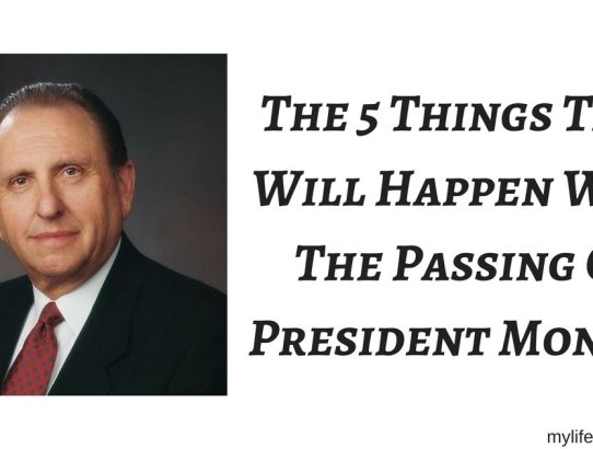 At 10:01 PM on January 2nd President Thomas S. Monson passed away. For over 3,000,000 members of the church, this is the first time they h