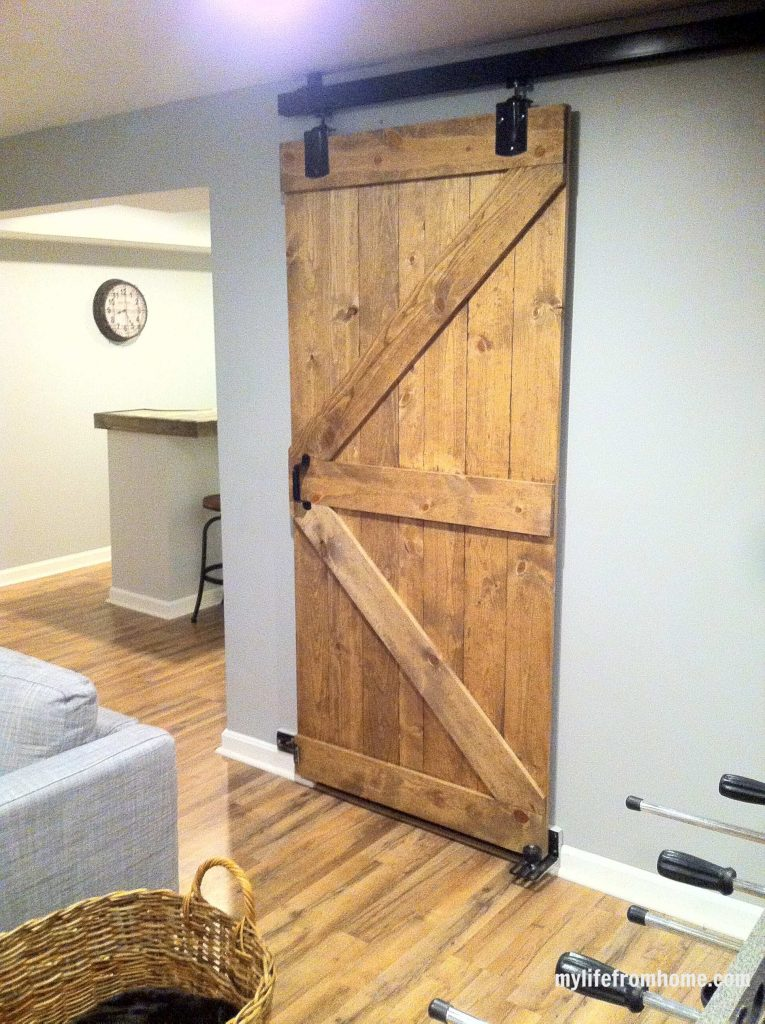 Slding barn door