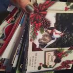 Christmas Card Prayer Ring & List Organization