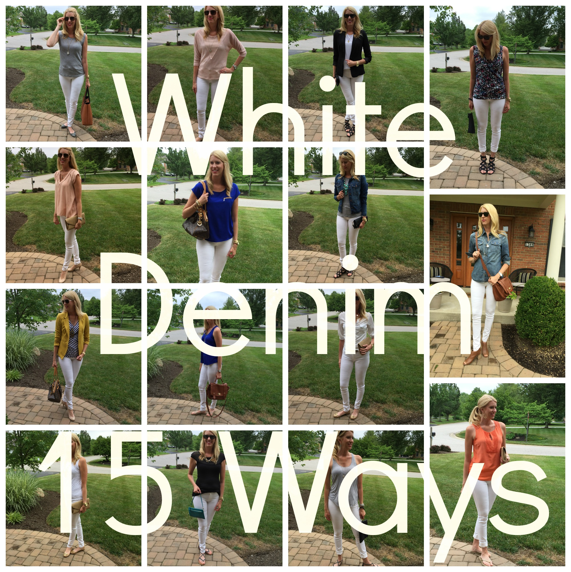 White Denim Collage 2