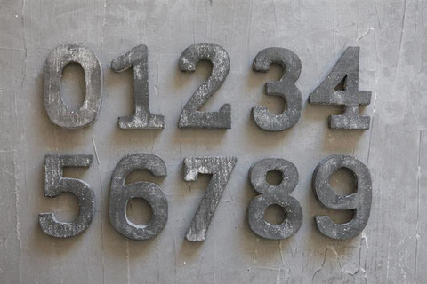 Farmhouse numbers