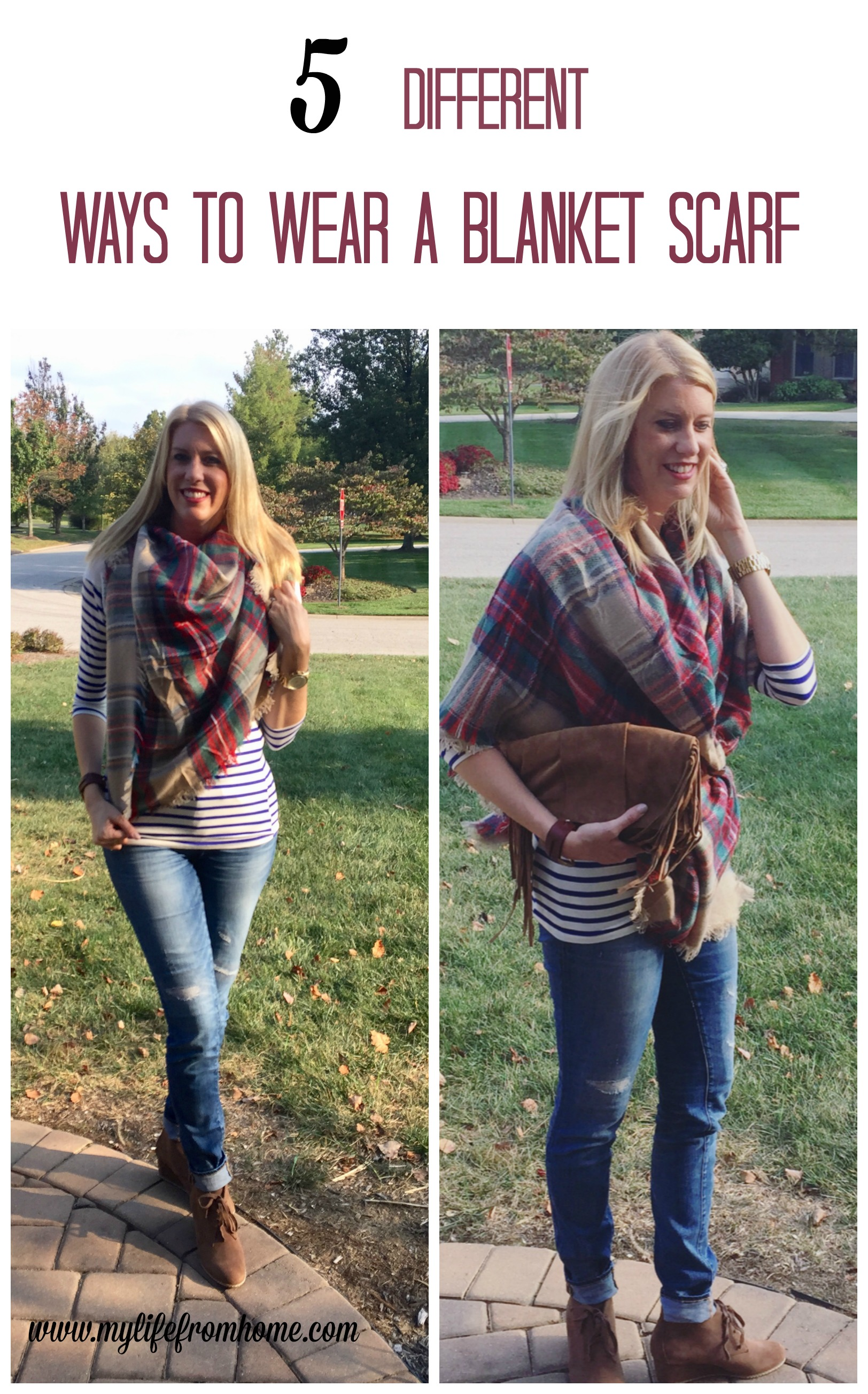 5-different-ways-to-wear-a-blanket-scarf-blanket-scarf-accessories-scarves-fall-fashion-womens-fashion-wardrobe-helpers-accessorizing-outfits-blanket-scarves