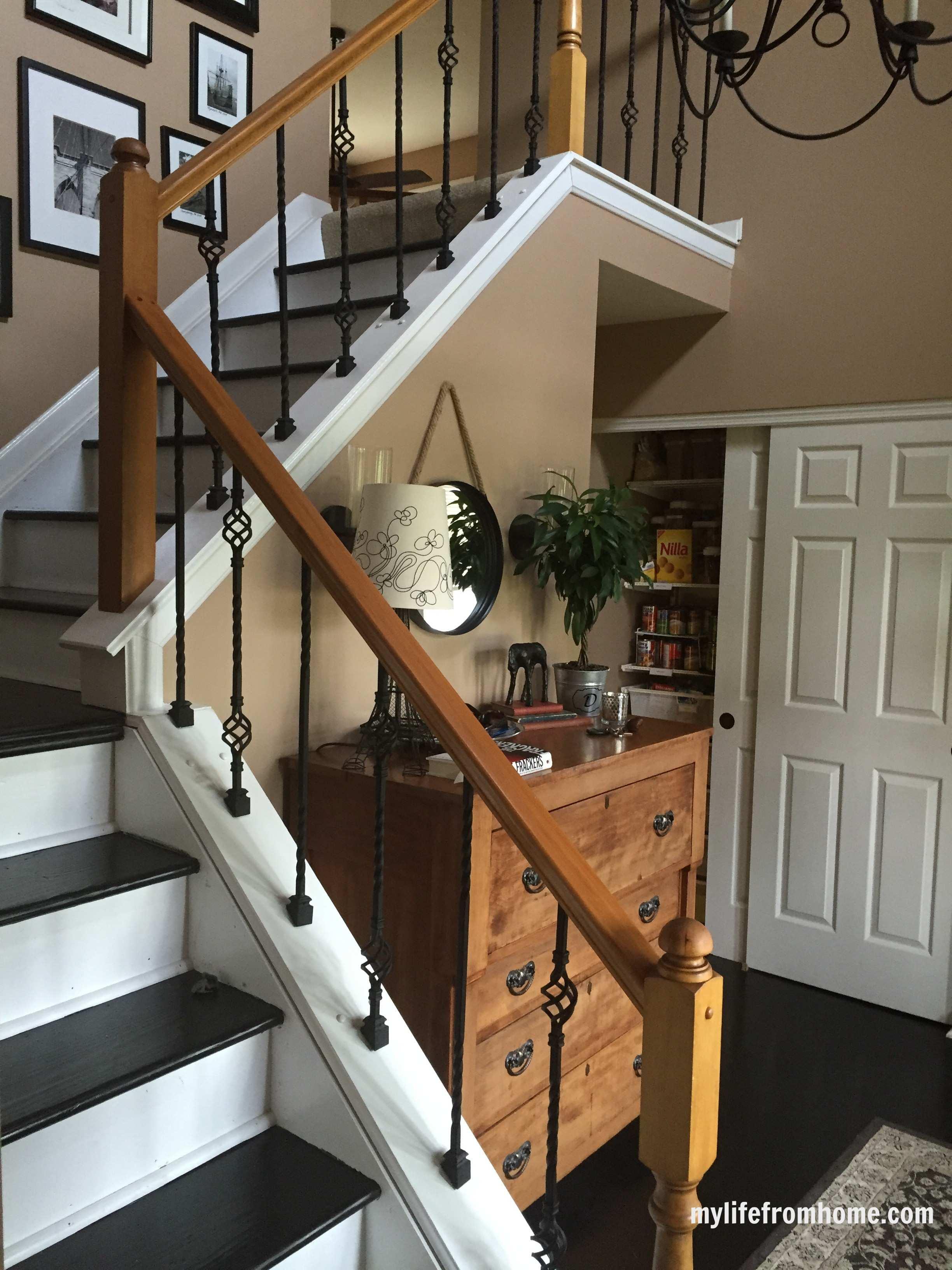 DIY Railings Adding Wrought Iron Spindles