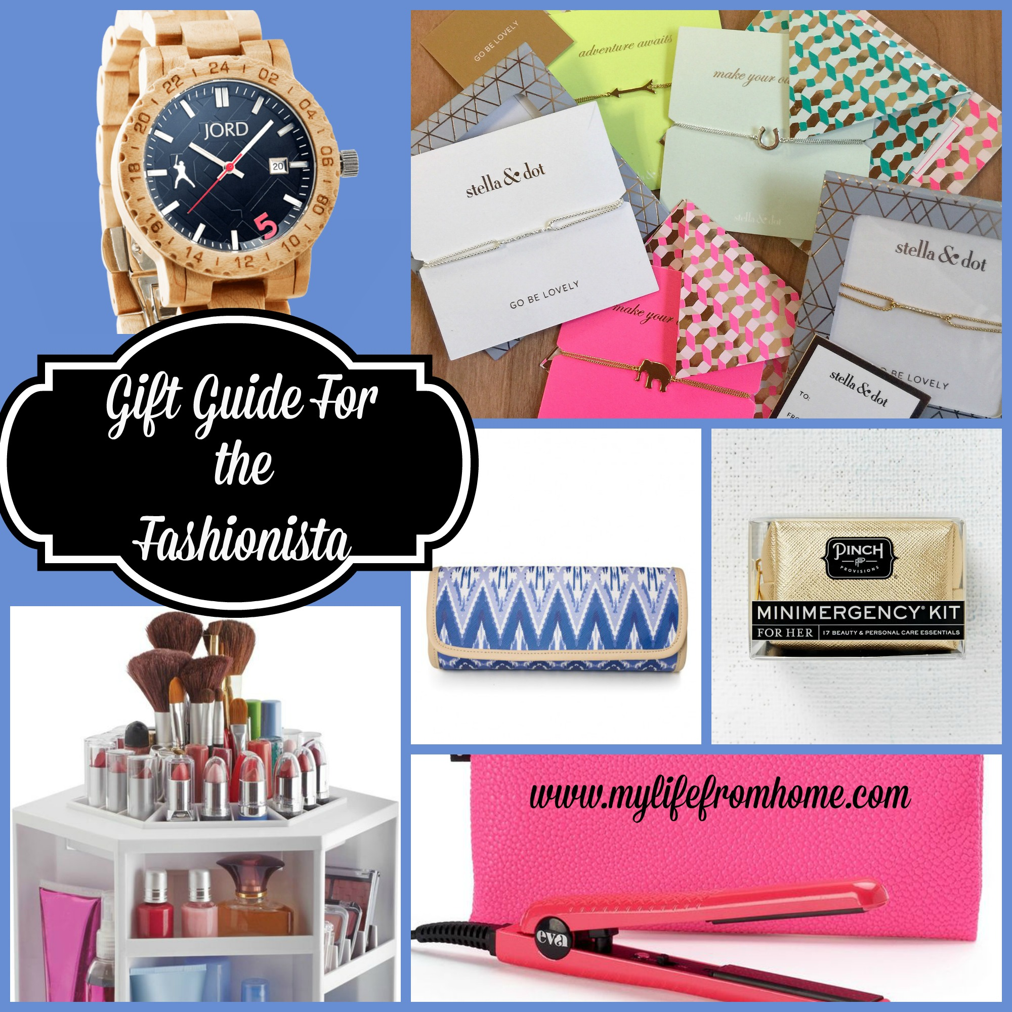 Gift Guide for the Fashionista by www.mylifefromhome.com