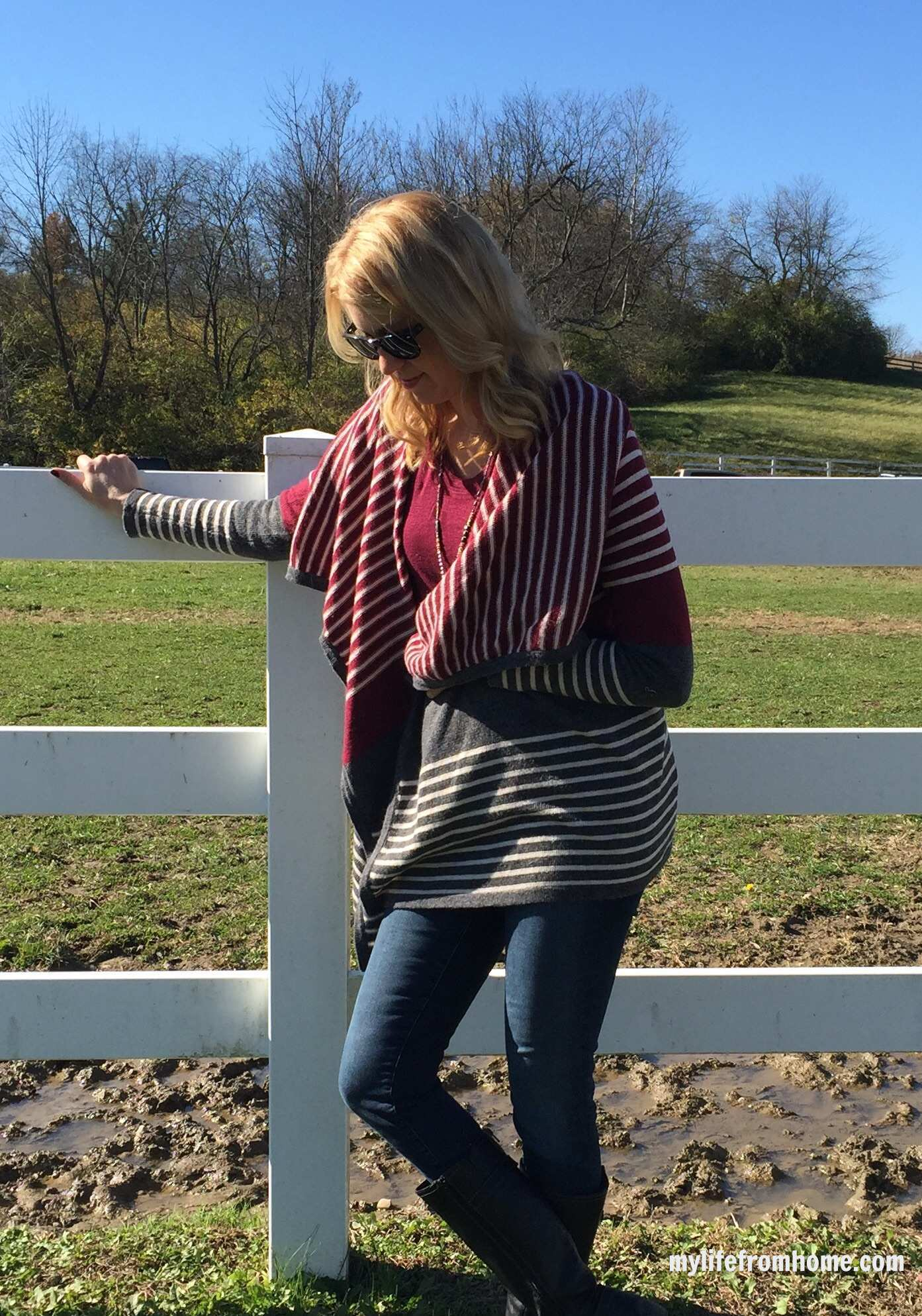 Waterfall Cardigan Outfit by www.whitecottagehomeandliving.com