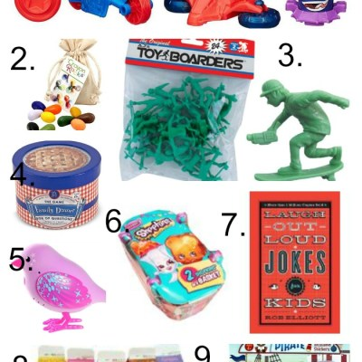 Last Minute Stocking Stuffers For Kids & My 3 Minutes of Fame