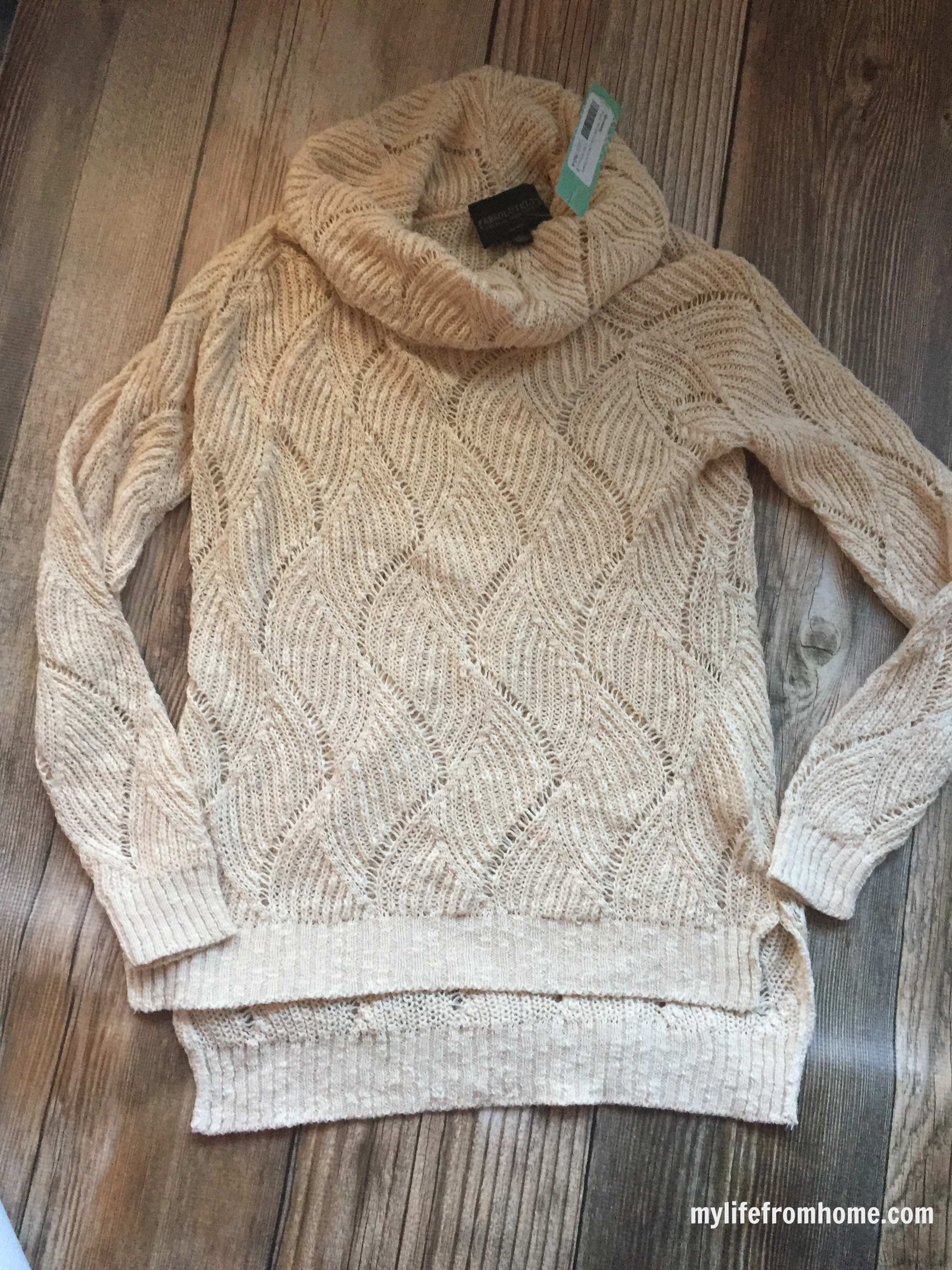 Knit Turtleneck Sweater by www.whitecottagehomeandliving.com
