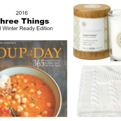 Three Things: Readying Your Home for Winter Edition