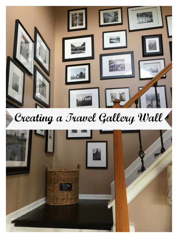 Travel Gallery Wall by www.mylifefromhome.com