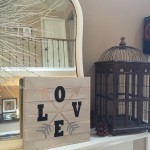 Valentine's Day Blog Hop: LOVE Pallet Craft