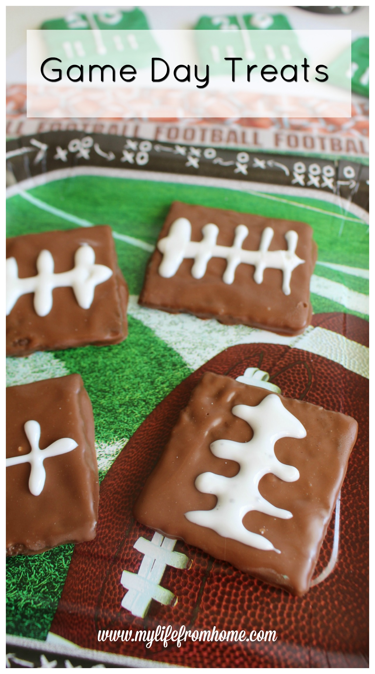Game Day Treats by www.mylifefromhome.com