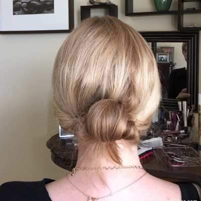 10-Minute Chignon & Living Proof Products