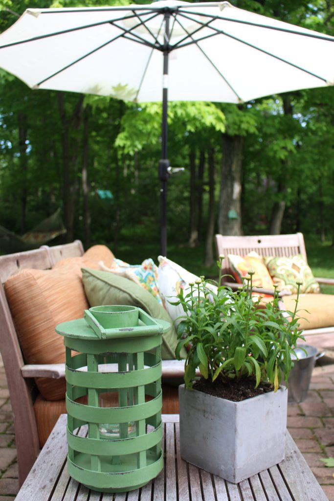Outdoor Patio Refresh with At Home by www.mylifefromhome.com