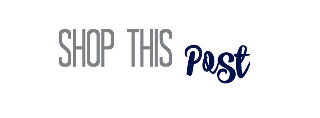 Shop this Post Logo