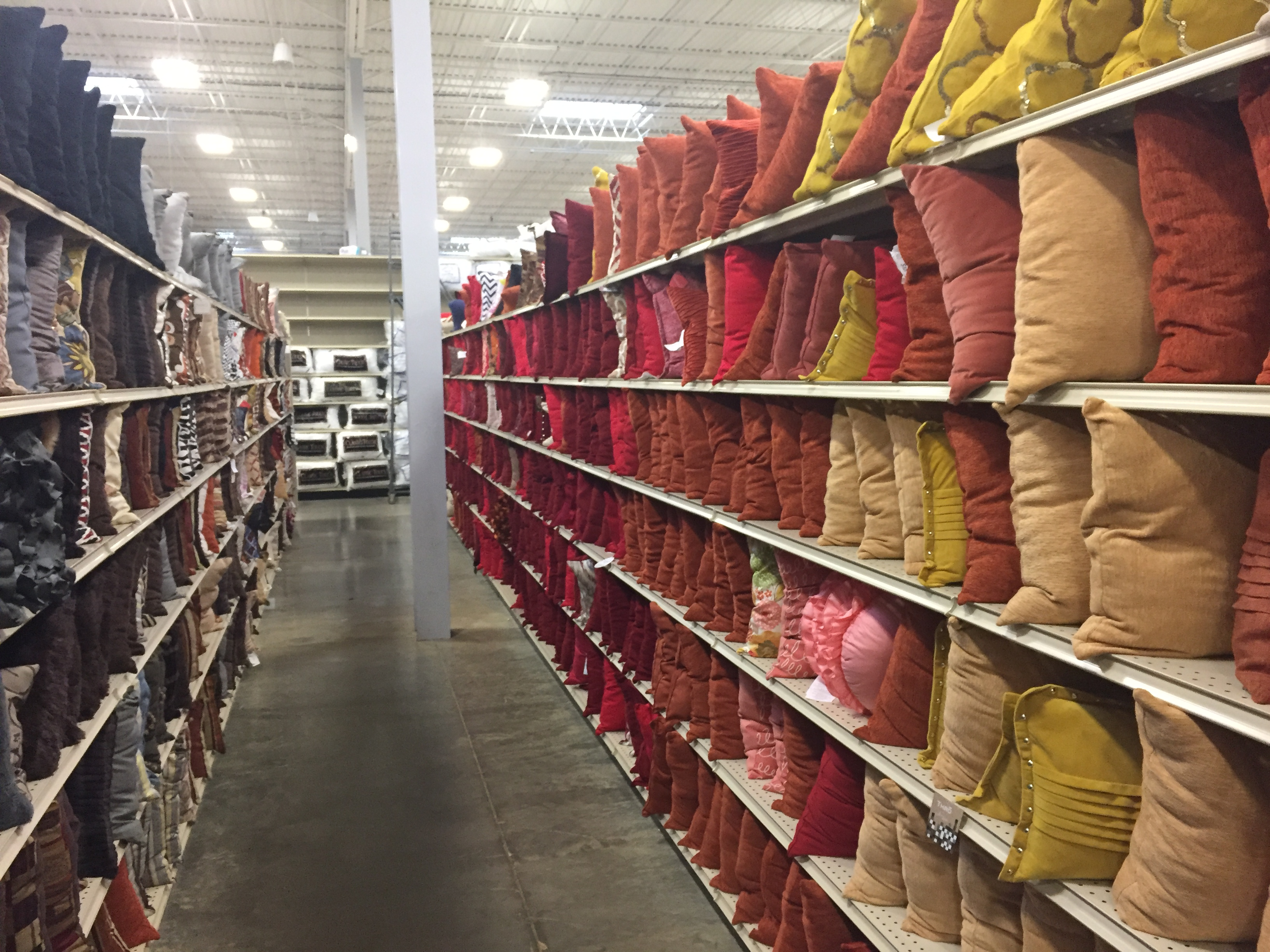 aisles of At Home throw pillows | At Home stores | throw pillows | Colors |