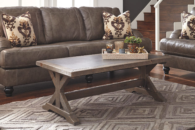 Valkner Coffee Table from Ashley Furniture $279.99