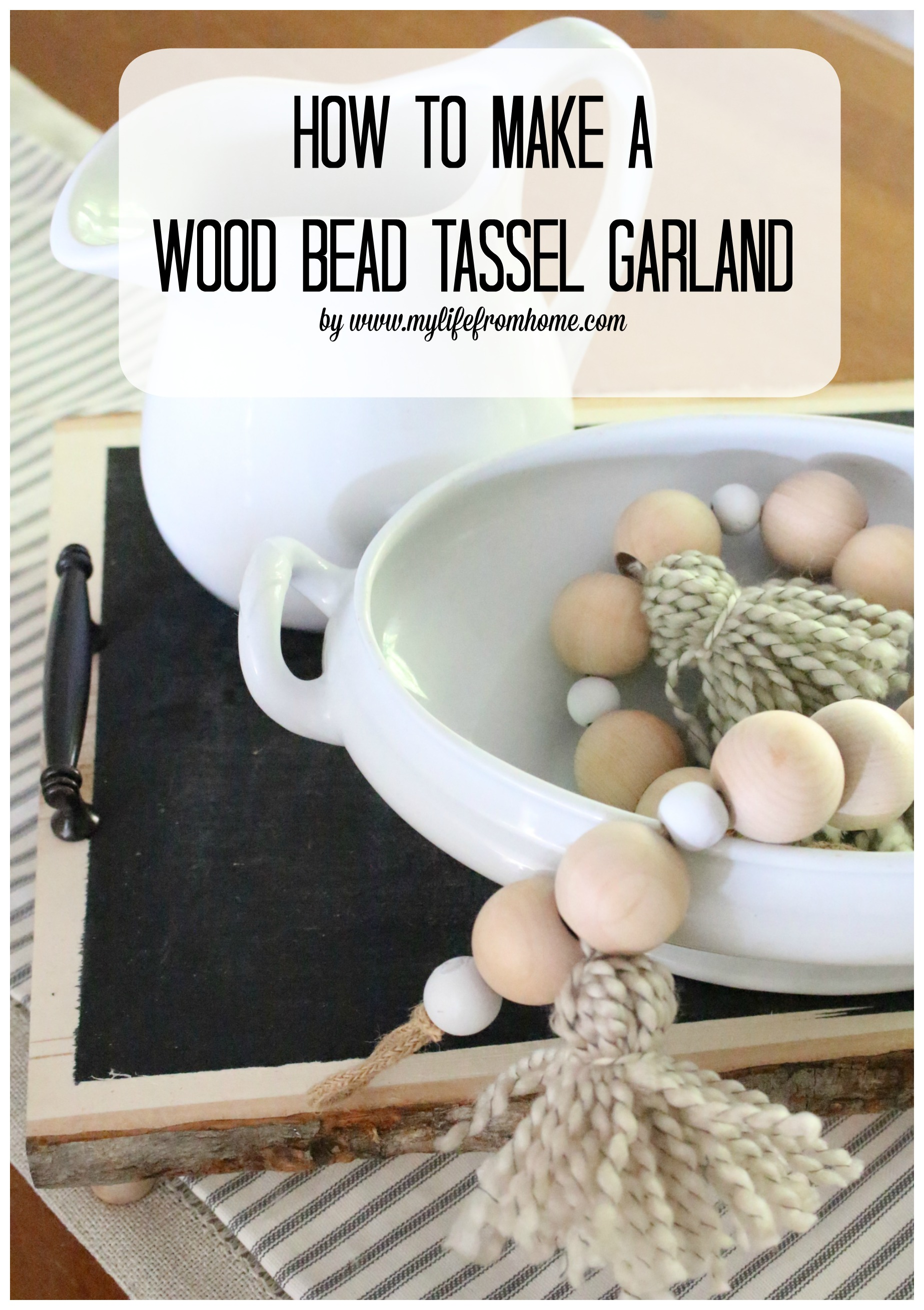 how-to-make-a-wood-bead-tassel-garland-crafts-diy-wood-bead-garland-home-decor-craft-garland-how-to-make-your-own-tassels-diy-tassels