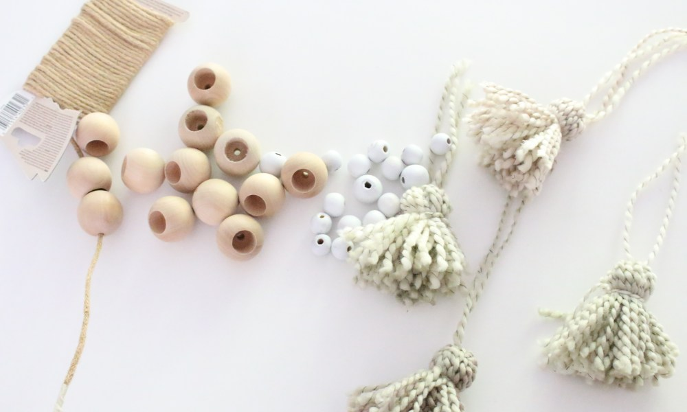 Wood Bead Tassel Garland~ Swap it Like its Hot 6