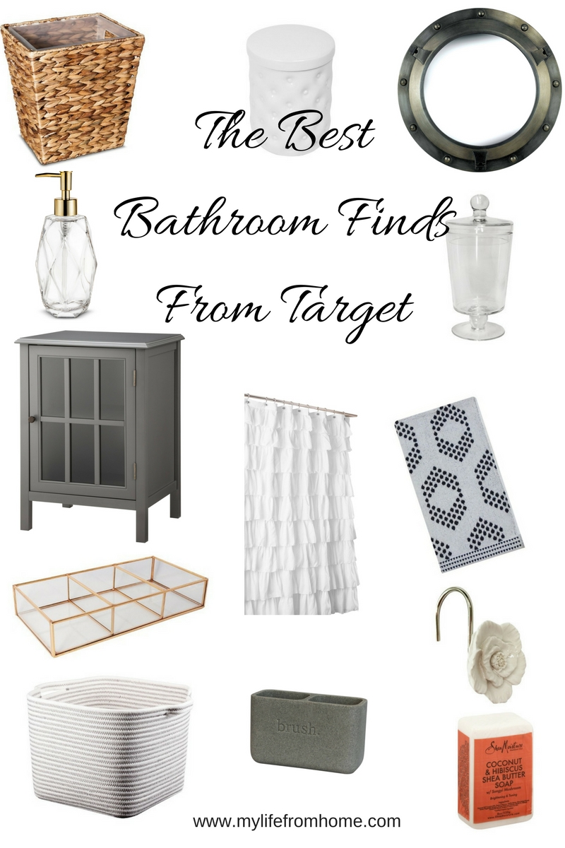 The Best Bathroom Finds From Target- bathroom accessories- target finds- products for your bathroom- bathroom storage- farmhouse bathroom- bathroom decor
