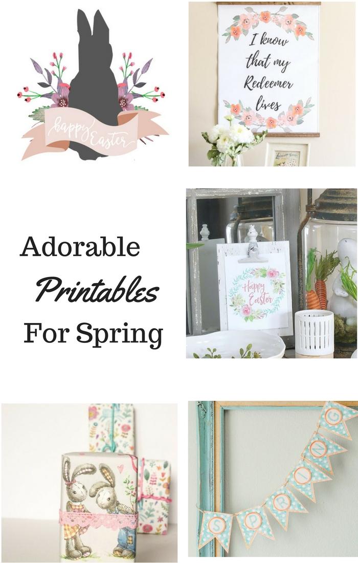 Free Spring Printables, DagmarBleasdale.com