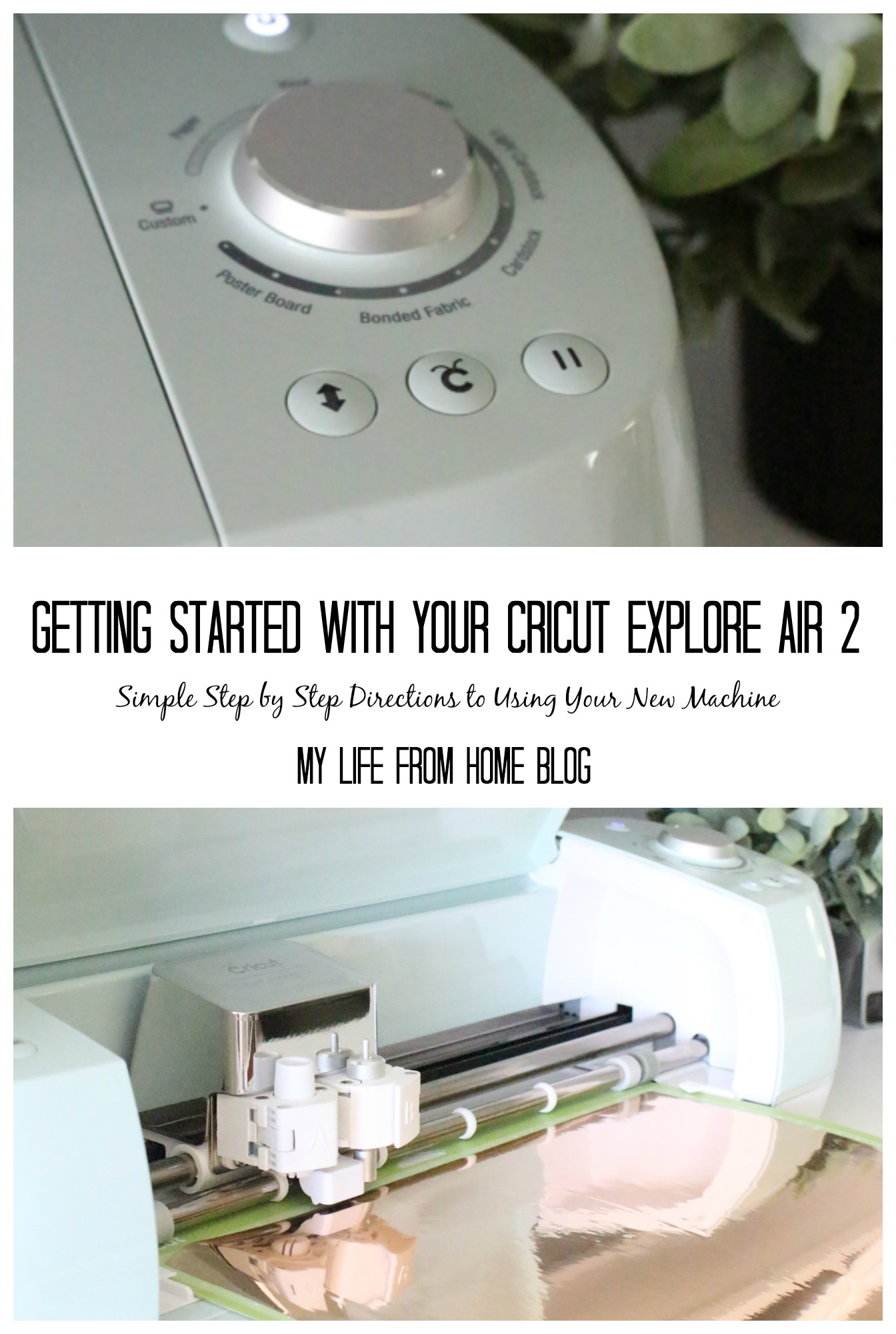 Cricut Explore Air 2- getting started- Cricut- die cut machine- cutting machine- crafting- tools- how to- directions