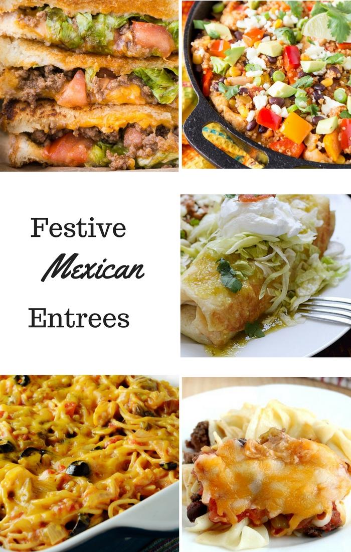 Festive Mexican Entrees Recipes, DagmarBleasdale.com