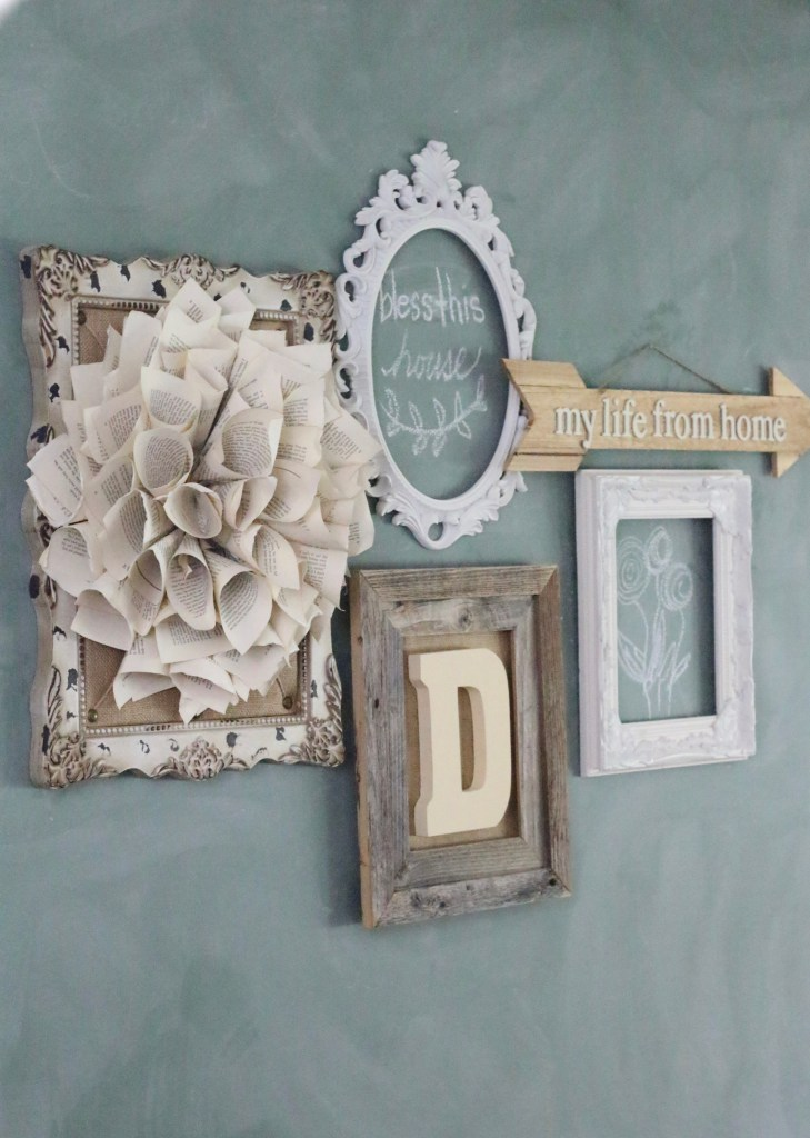 Farmhouse Monogram Wall Decor~ Create With Me   My Life From Home