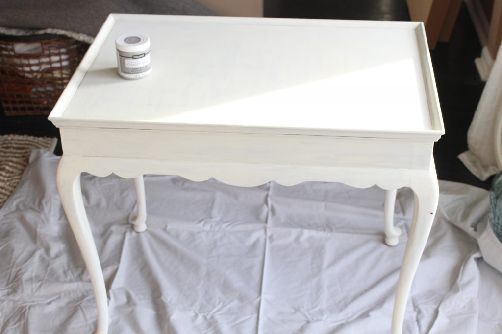 using chalk paint to update a nightstand my life from home