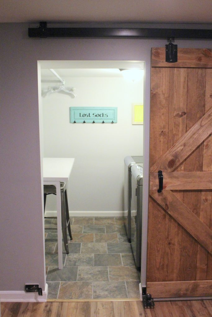 laundry room- small space laundry- tips for organizing a small laundry- laundry room- room by room- room decor ideas- Do it Yourself- DIY- room design
