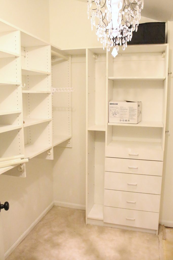 A full boutique closet reveal- master closet- closets- organizing closets- do it yourself- DIY- DIY projects- decoration ideas- room decor ideas- room design- home decor- closet decor- boutique- closet organization