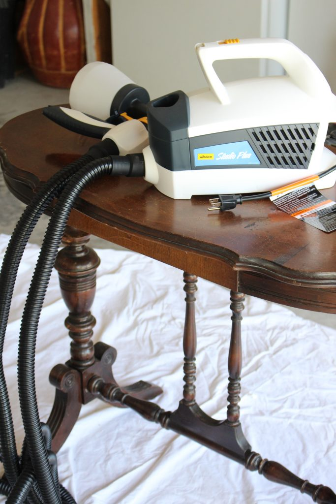 Using A Wagner Control Spray Sprayer To Paint Furniture  Painted Furniture   White Furniture