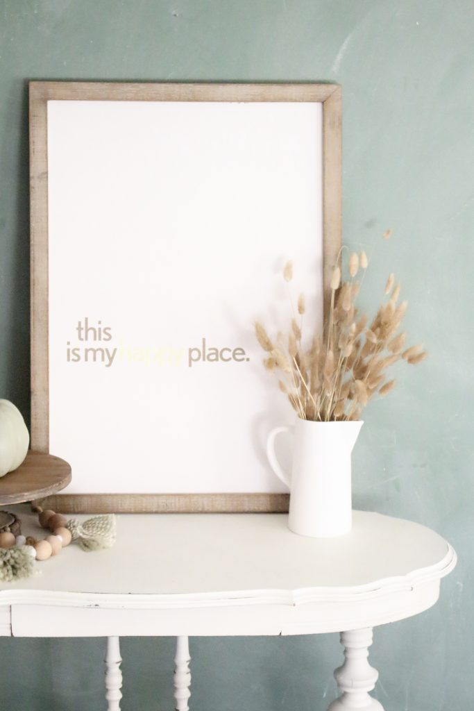 Using a Wagner Studio Home Decor Sprayer- paint sprayer- painted furniture- how to paint- paint- DIY- DIY projects- Do it Yourself- home decor projects- room design- crafts- sprayer- white painted furniture- shabby chic- cottage style furniture