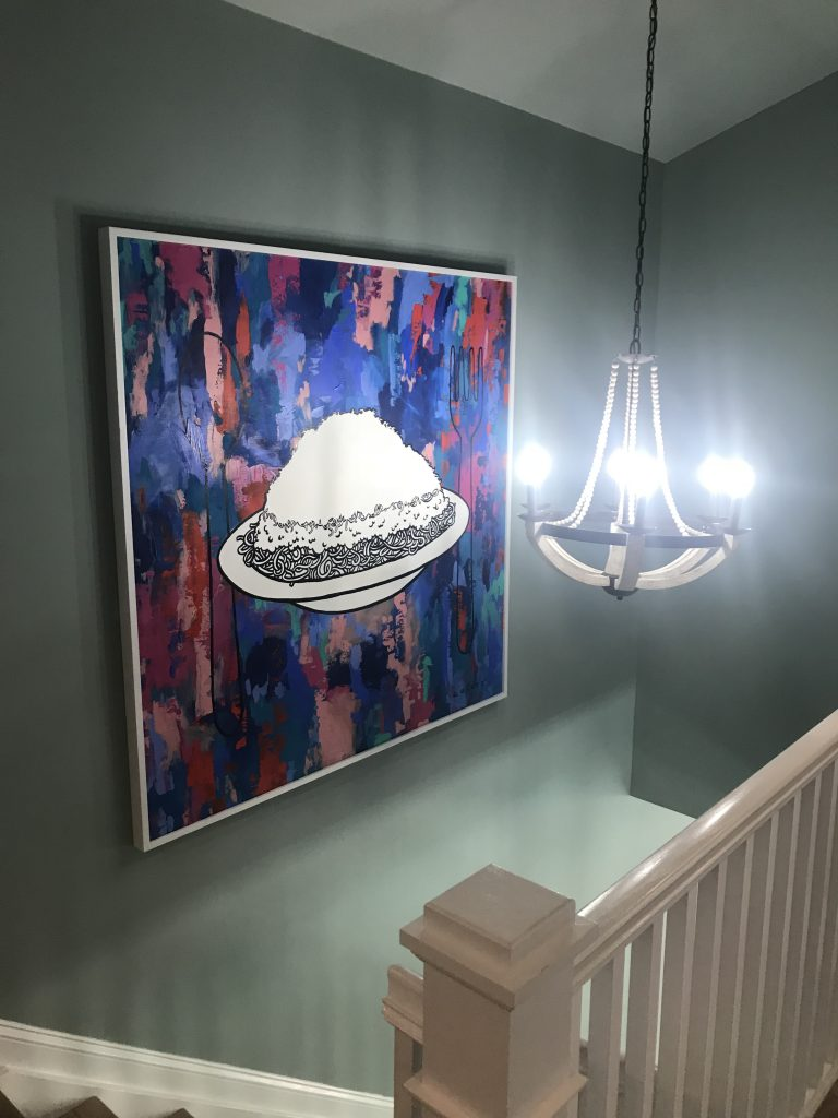 HGTV Dream Home Urban Oasis 2018- home design- Cincinnati- Brian Patrick Flynn- designer- Urban Home- color- decor- Home- giveaway- hgtv- Cincinnati chili art
